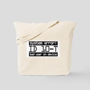 ID 10-T Tote Bag