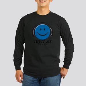 3-trust-me Long Sleeve Dark T-Shirt