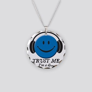 3-trust-me Necklace Circle Charm