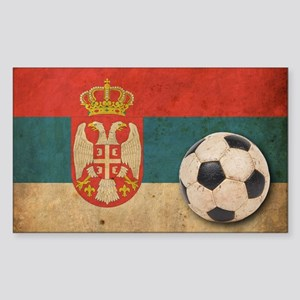 vintageSerbia4 Sticker (Rectangle)