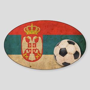 vintageSerbia4 Sticker (Oval)