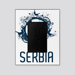 Serbia Football3 Picture Frame