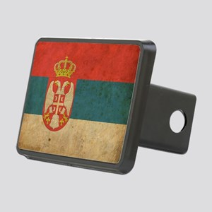 vintageSerbia3 Rectangular Hitch Cover