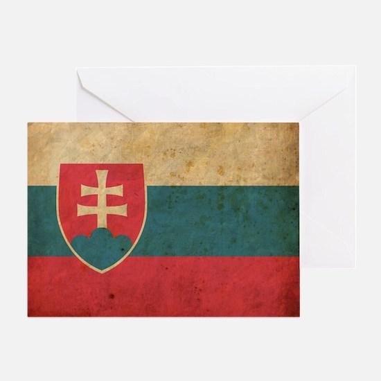 vintageSlovakia3 Greeting Card