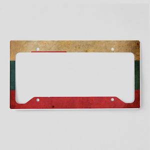 vintageSlovakia3 License Plate Holder