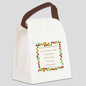Harvest Thanks Canvas Lunch Bag