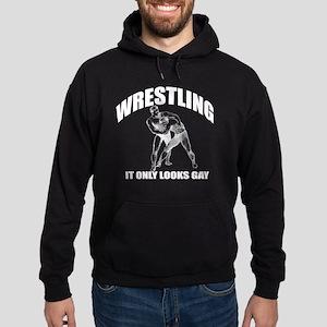 Wrestling(B) Hoodie (dark)