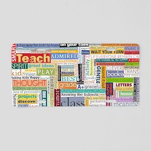 Teacher Mug Aluminum License Plate