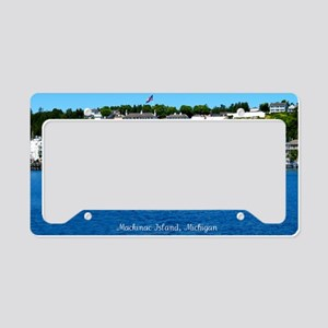 harborfortview2 License Plate Holder