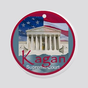 Kagan4 A Round Ornament