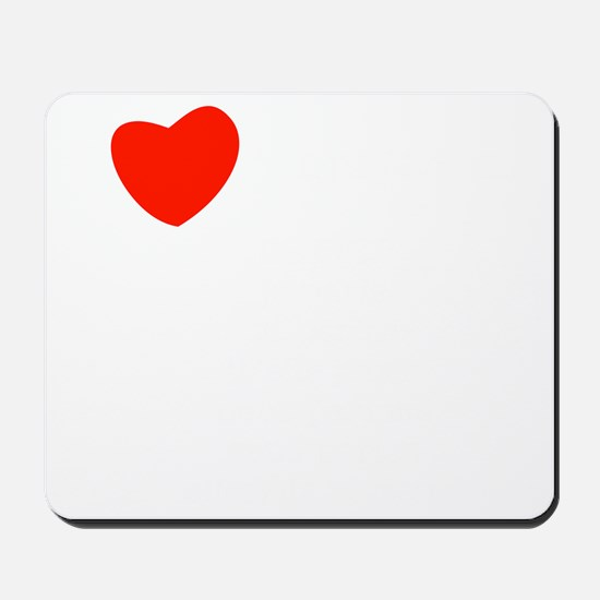 french_white-all Mousepad