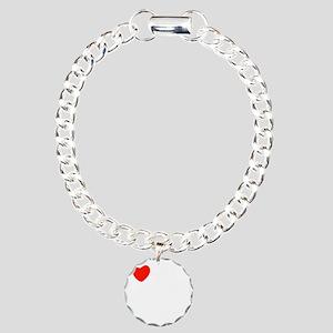 french_white-all Charm Bracelet, One Charm