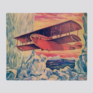 Tom Swift and his Flying Boat Throw Blanket