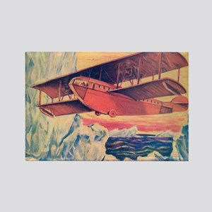 Tom Swift and his Flying Boat Rectangle Magnet