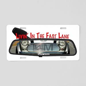 fastlane rearview Aluminum License Plate