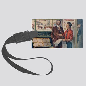 Chest of Secrets 2 Large Luggage Tag