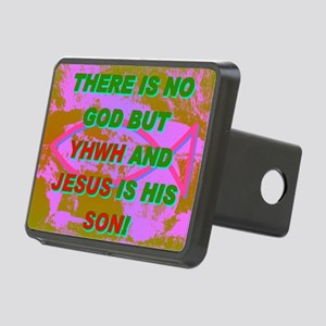 20-THERE IS NO GOD BUT YHW Rectangular Hitch Cover