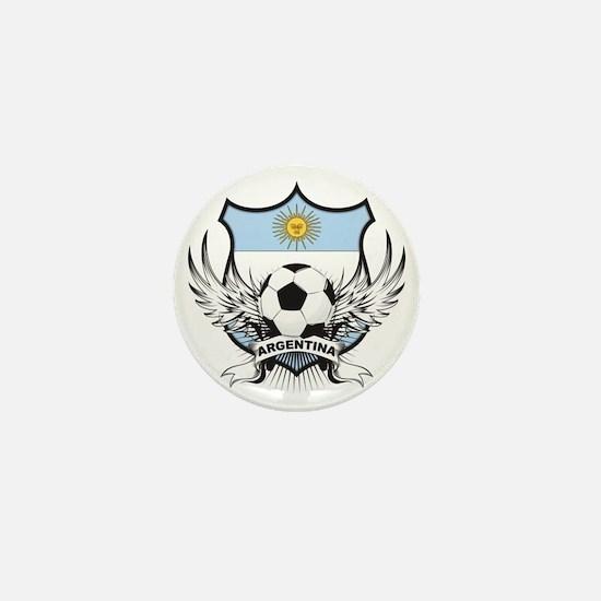2-argentina Mini Button