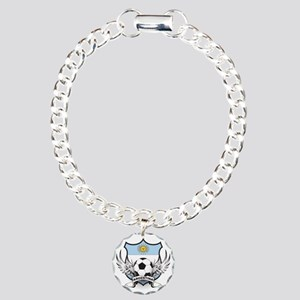 2-argentina Charm Bracelet, One Charm