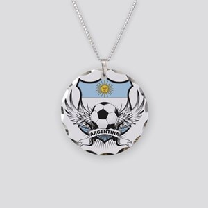 2-argentina Necklace Circle Charm