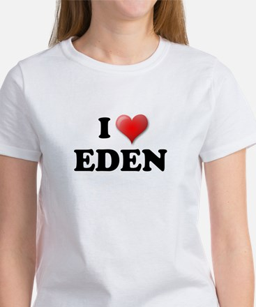 I LOVE EDEN T-SHIRT EDEN SHIR Women's T-Shirt