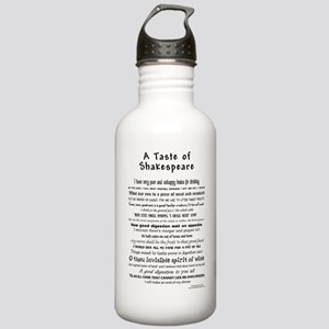 Shakespeare Apron Stainless Water Bottle 1.0L