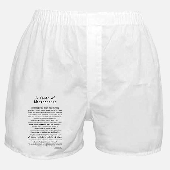 Shakespeare Apron Boxer Shorts