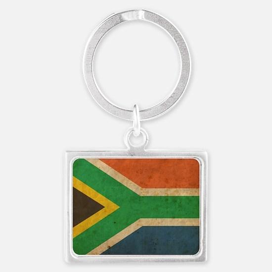 VintageSouthAfrica2 Landscape Keychain