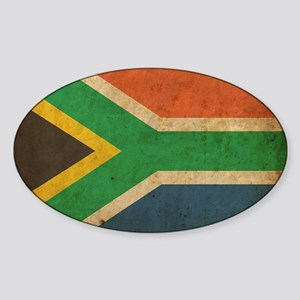 VintageSouthAfrica2 Sticker (Oval)