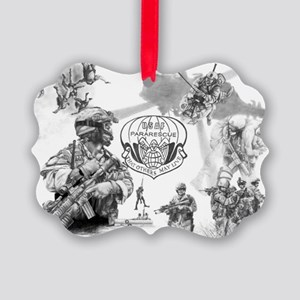 Pararescue Picture Ornament