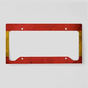 vintagespain4 License Plate Holder