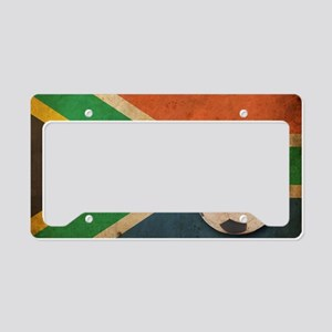 VintageSouthAfrica3 License Plate Holder