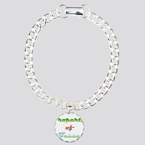 Property Of Tessa Female Charm Bracelet, One Charm