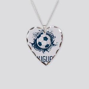 Uruguay World Cup2 Necklace Heart Charm