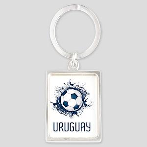 Uruguay World Cup2 Portrait Keychain