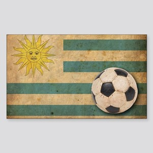 vintageUruguay5 Sticker (Rectangle)