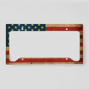 vintageAmerica2 License Plate Holder
