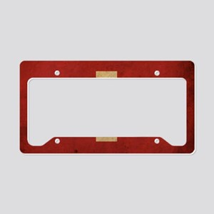 vintageSwitzerland3 License Plate Holder
