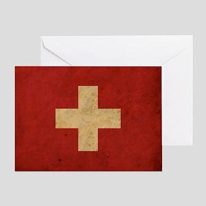 vintageSwitzerland3 Greeting Card
