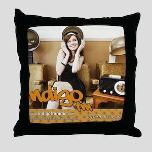 IndigoFM-mousepad-cafepress Throw Pillow