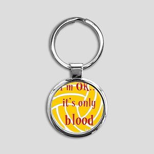 blood_bb Round Keychain