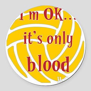 blood_bb Round Car Magnet