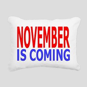 novemberiscoming Rectangular Canvas Pillow