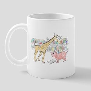 giraffe pig 4  Mug
