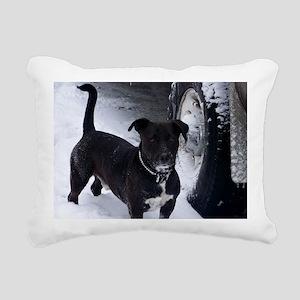 shorty Rectangular Canvas Pillow