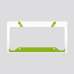 Google Android Head License Plate Holder