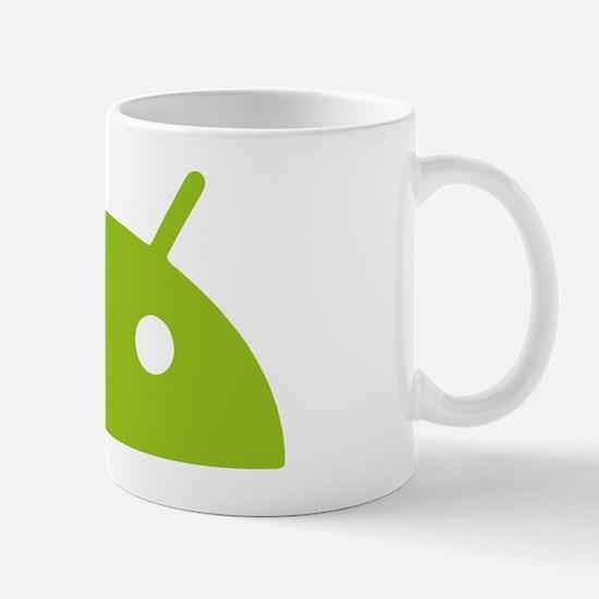 Google Android Head Mug