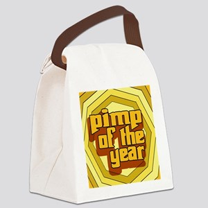 Pimp Of The Year --T-Shirt Canvas Lunch Bag