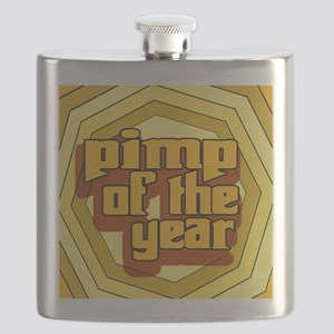 Pimp Of The Year --T-Shirt Flask