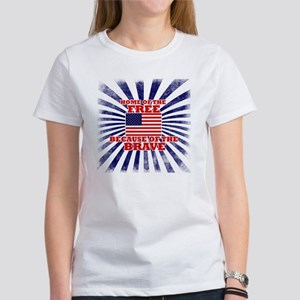 Home of the free because of the br Women's T-Shirt